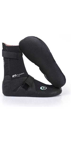 2019 Rip Curl Womens Flashbomb 5mm Split Toe Neoprene Boots Slate WBO7DW