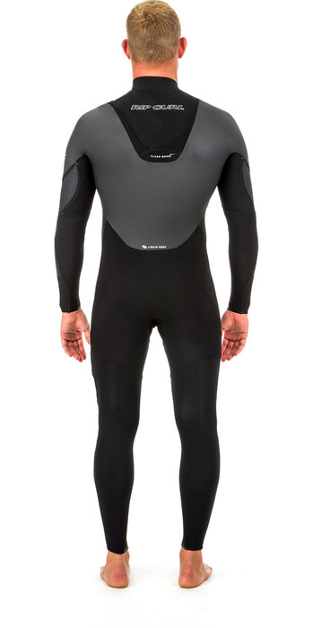 2020 Rip Curl Flashbomb Heatseeker 3/2mm Zip Free Wetsuit BLACK WST8PF