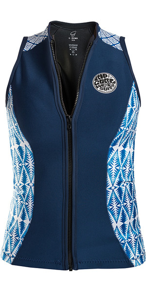 2018 Rip Curl G Bomb 1mm Sleeveless Neoprene Vest Blue WVE6BW