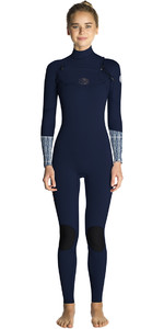 2019 Rip Curl Womens Flashbomb 5/3mm Chest Zip Wetsuit BLUE WST7GS