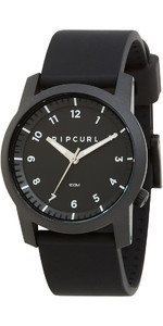 2019 Rip Curl Cambridge Silicone Watch Black A3088