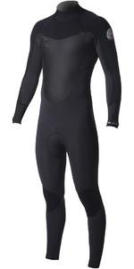 2019 Rip Curl Dawn Patrol 3/2mm Back Zip Wetsuit BLACK WSM8DM