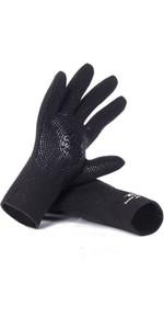 2021 Rip Curl Dawn Patrol 3mm Gloves WGLYBM - Black