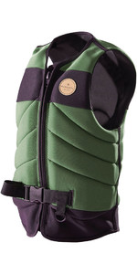 Rip Curl Dawn Patrol Wake Impact Vest Green WK17DM