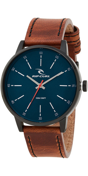 2018 Rip Curl Drake Leather Watch Midnight Navy A2908
