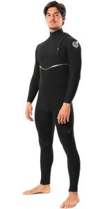 2020 Rip Curl Mens E-Bomb 4/3mm Ltd Edition E7 Zip Free Wetsuit WSMYBE - Black