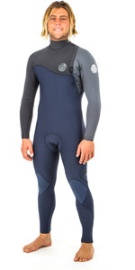 2019 Rip Curl E-Bomb Pro 5/3mm Zip Free Wetsuit SLATE WSM8PE