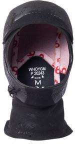 2021 Rip Curl Flashbomb 3mm Neoprene Hood WHOYGM - Black
