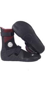 2021 Rip Curl Flashbomb 5mm Hidden Split Toe Wetsuit Boots WBOYIF - Black