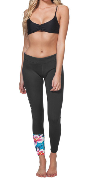 2018 Rip Curl G Bomb Womens 1mm SUP Long Neoprene Trousers BLACK SUB WPA7BW