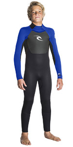 2018 Rip Curl Junior Omega 3/2mm GBS Wetsuit BLUE WSM5EB