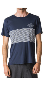 Rip Curl Linear Surflite UV UPF50+ Short Sleeve Tee Navy WLY7CM