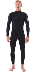 2021 Rip Curl Mens Dawn Patrol Warmth 5/3mm Back Zip Wetsuit Black WSM9FM