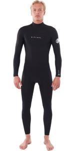 2020 Rip Curl Mens Dawn Patrol Warmth 4/3mm Back Zip Wetsuit Black WSM9EM