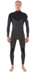 2021 Rip Curl Mens Dawn Patrol Warmth 4/3mm Chest Zip Wetsuit WSM9CM - Dark Green
