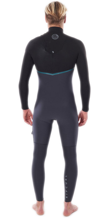 2020 Rip Curl Mens E-Bomb 3/2mm Zip Free Wetsuit WSMYRE - Charcoal Grey