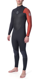 2020 Rip Curl Mens Flashbomb 5/3mm Chest Zip Wetsuit Burnt Orange WST7DF