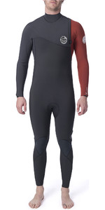 2020 Rip Curl Mens Flashbomb 5/3mm GBS Zip Free Wetsuit Burnt Orange WSM9FF