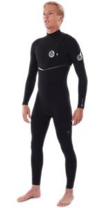 2021 Rip Curl Mens Flashbomb 4/3mm Zip Free Wetsuit WSMYSF - Black