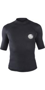 2020 Rip Curl Mens Hotskin 0.5mm Short Sleeve Neoprene Jacket Black WVE8HM