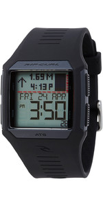 2021 Rip Curl Rifles Tide Surf Watch Black A1119