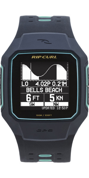 2018 Rip Curl Search GPS Series 2 Smart Surf Watch Mint A1144