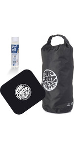 2019 Rip Curl Small Wetsack + Change Mat & Wetsuit Shampoo Package Deal