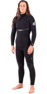 2020 Rip Curl Womens E-Bomb 3/2mm Ltd Edition E7 Zip Free Wetsuit WSMYTG - Black