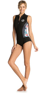 Rip Curl Womens G-Bomb 1mm Sleeveless Shorty Wetsuit Black Sub WSP7MW