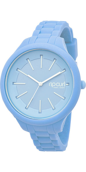 2018 Rip Curl Womens Horizon Silicone Surf Watch Baby Blue A2803G