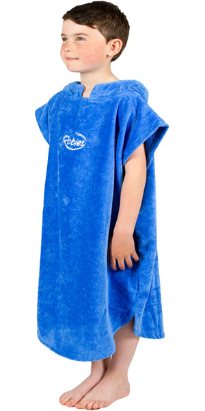 2018 Robies Classic Kids Changing Robe 8/9 Years Blue