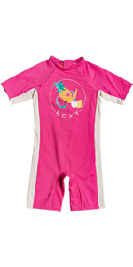 2020 Roxy Girls UV50+ Spring Suit ERLWR03138 - Pink Flambe