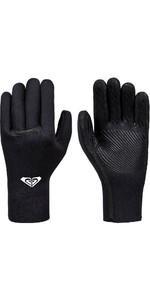 2019 Roxy Syncro Plus 3mm Liquid Flex Seal Neoprene Gloves Back ERJHN03150