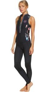 2020 Roxy Womens 1.5mm Pop Surf Long Jane Wetsuit ERJW703003 - Black