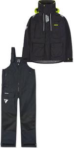 2019 Musto Mens BR2 Offshore Jacket SMJK052 & Trouser SMTR044 Combi Set Black