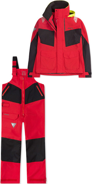 2019 Musto Mens BR2 Coastal Jacket SMJK055 & Trouser SMTR044 Combi Set Red