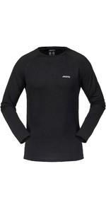 2019 Musto Merino Base Layer Long Sleeve T-Shirt Black SMTH027