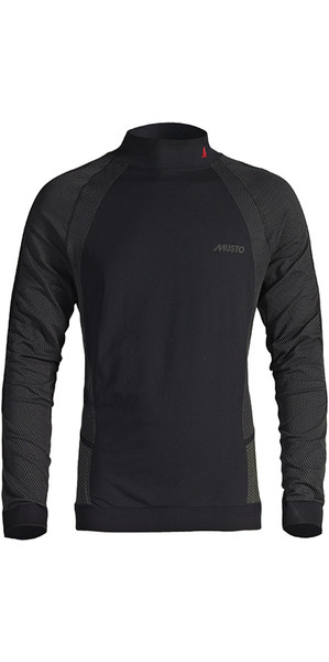 2019 Musto Active Base Layer Long Sleeve Top Black SU0150