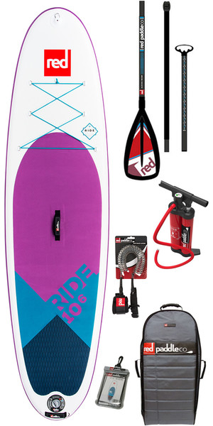 2018 Red Paddle Co Ride 10'6 Special Edition Inflatable Stand Up Paddle Board + Bag, Pump, Paddle & Leash