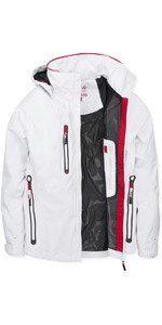 2019 Musto Womens Sardinia BR1 Jacket White / True Red SWJK017