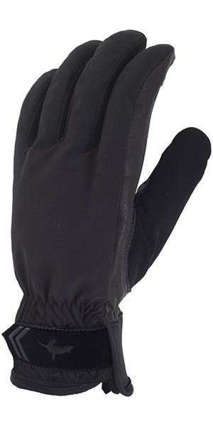 2018 Sealskinz All Season Gloves Black / Charcoal 707001