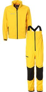 2019 Slam WIN-D Sailing Jacket + Trouser Combi Set Yellow