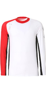 2020 Slam WIN-D Breeze LS Tech Shirt White / Red S112477T00