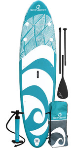 2021 Spinera Lets Paddle 10'4 Inflatable Stand Up Paddle Board Package - Board, Bag, Pump, Paddle & Leash