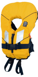 2020 Crewsaver Junior Spiral 100n Life Jacket in Yellow / Black 2820 Child & Baby