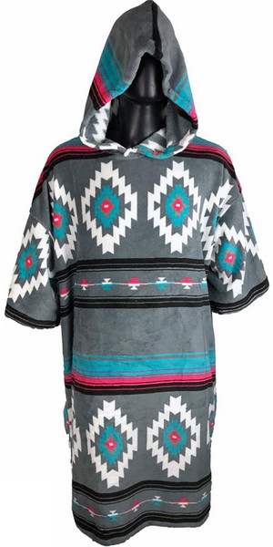2019 TLS Hooded Poncho / Change Robe Native
