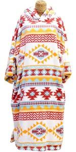 2021 TLS Hooded Change Robe Poncho - Chimayo