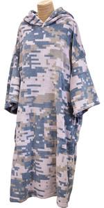 2020 TLS Hooded Poncho / Change Robe Poncho3 - Digi Camo