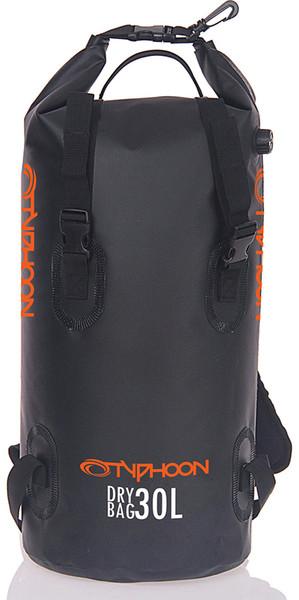 2019 Typhoon 30L Backpack Dry Bag Black 495016