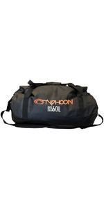 2019 Typhoon 60L Dry Bag Holdall Black 495014